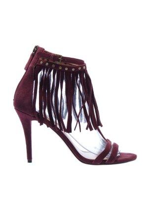 Nine west High Heel Sandaletten rot Elegant