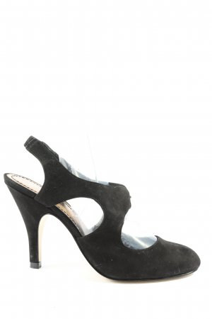 Nine west Tacones sin talón negro estilo «business»