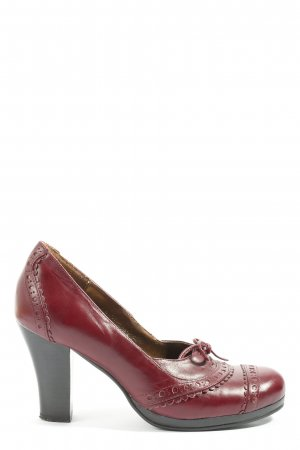 Nine west High-Front Pumps red casual look