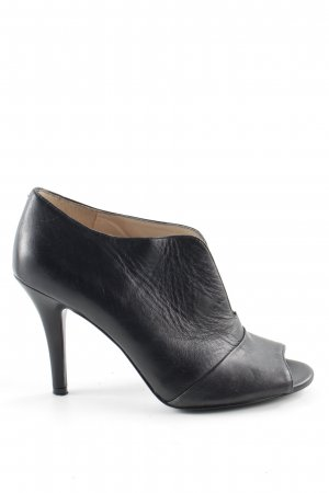 Nine west Peeptoe-Stiefeletten schwarz Casual-Look