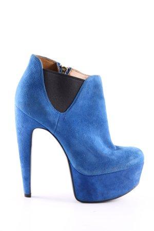 Nine west Plateau-Stiefeletten blau Elegant