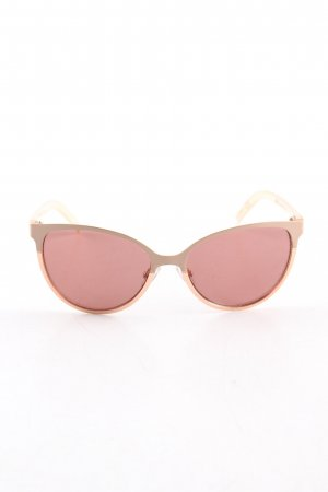 Nine west Retro Brille pink-wollweiß Casual-Look