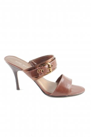 Nine west Riemchenpumps braun Elegant