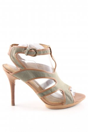 Nine west Riemchenpumps creme-khaki Casual-Look