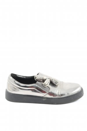 Nine west Slip-on Shoes silver-colored casual look