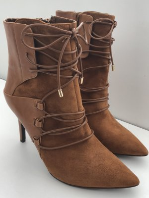 NINE WEST Stiefeletten Gr 37 Leder