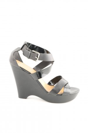 Nine west Wedges Sandaletten schwarz Casual-Look