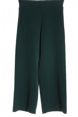 NIU' Pantalón de campana verde elegante