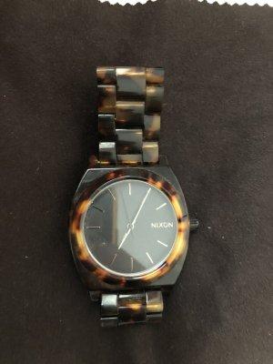 Nixon Zegarek analogowy Wielokolorowy Włókno octanowe
