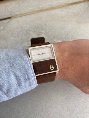 Nixon Uhr mit Holz Element