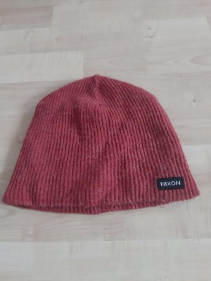 Nixon Knitted Hat brick red