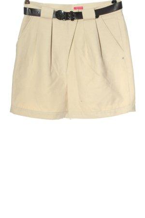 NKD Pantaloncino a vita alta crema stile casual