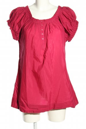 NKD Kurzarm-Bluse pink Casual-Look