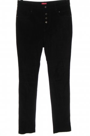 NKD Pantalón de cuero negro look casual