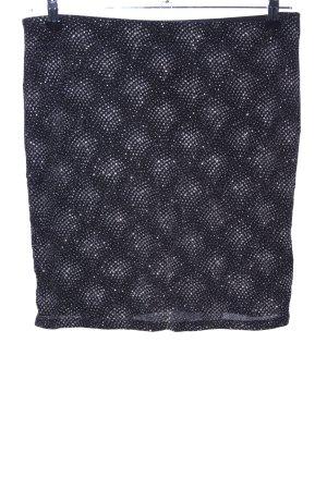 NKD Minirock schwarz-silberfarben Elegant