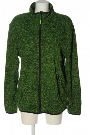 NKD Giacca fitness verde-nero puntinato stile casual