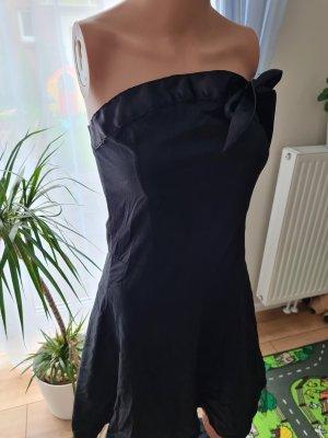 Unbekannte Marke Robe avec jupon noir