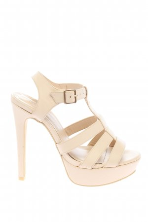 NLY SHOES High Heels creme Casual-Look