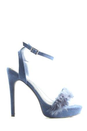 NLY SHOES High Heels blau Elegant