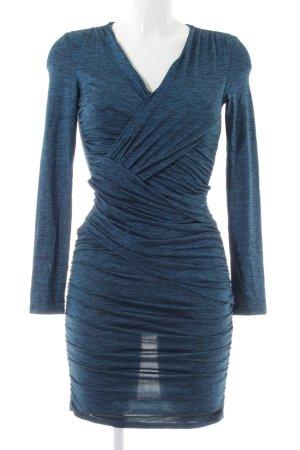 NLY Trend Bleistiftkleid blau meliert Party-Look