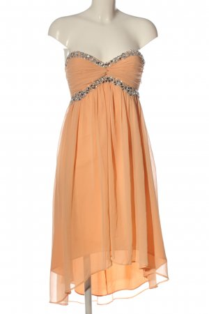 NLY Trend High Low Dress nude-silver-colored elegant