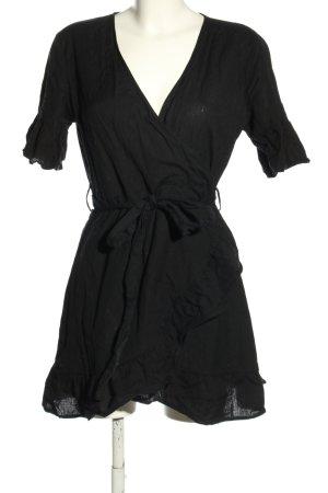 NLY Trend Kopertowa bluzka czarny W stylu casual