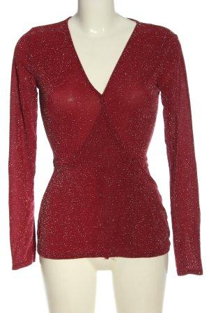 NLY Trend Maglietta aderente rosso elegante