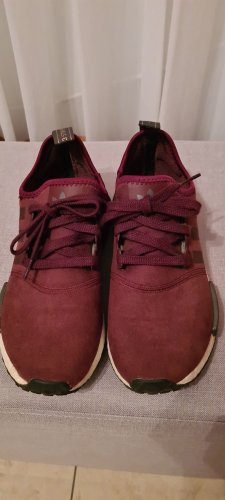 Adidas NMD Slip-on Sneakers blackberry-red