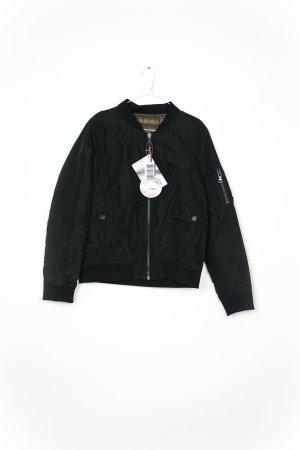 No. 1 Como Reversible Jacket black polyester