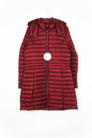 No. 1 Como Abrigo de plumón rojo oscuro