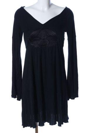 No.l.ita Jersey Dress black casual look