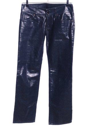 No.l.ita Stoffhose blau Casual-Look
