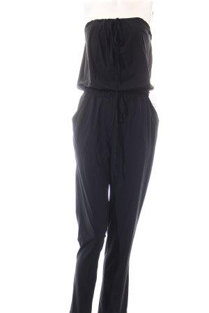 no man's land Jumpsuit schwarz Street-Fashion-Look