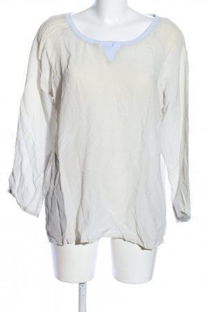 no man's land Seidenbluse creme Casual-Look