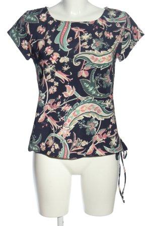 no man's land T-Shirt abstraktes Muster Casual-Look