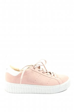 no name Schnürsneaker pink Casual-Look