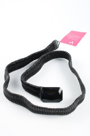 no name Fabric Belt black casual look