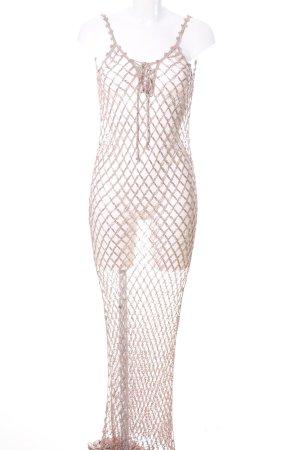 no name Trägerkleid nude extravaganter Stil