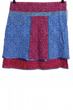 no name Tulip Skirt red-blue allover print casual look