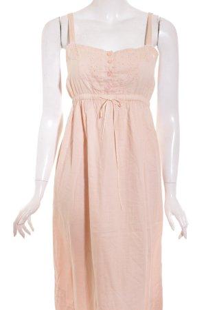 Noa Noa A-Linien Kleid rosé Bänderverzierung
