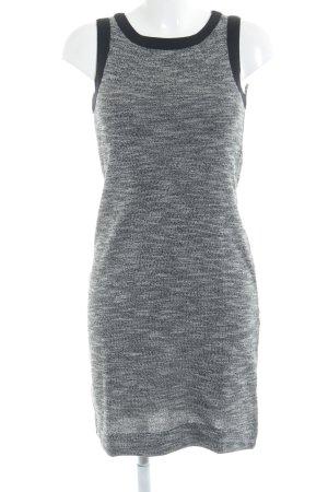 Noa Noa A-Linien Kleid schwarz-grau meliert Casual-Look