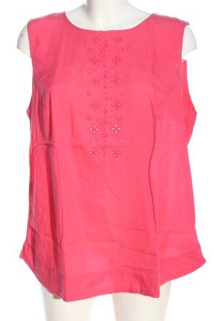 Noa Noa ärmellose Bluse pink Casual-Look