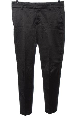 Noa Noa Pantalone da abito nero stile casual