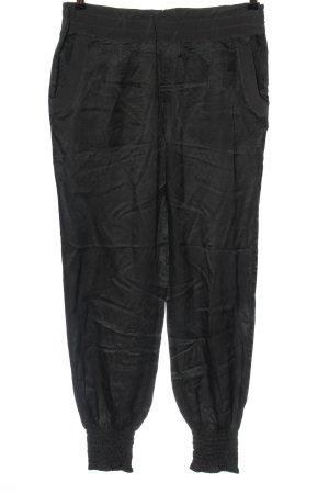 Noa Noa Luźne spodnie czarny W stylu casual