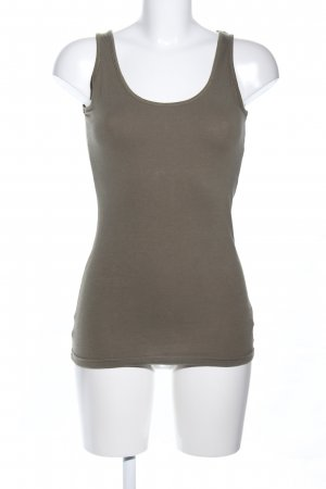 Noa Noa Basic Top khaki Casual-Look