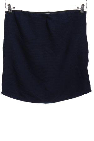 Noa Noa Bleistiftrock blau Casual-Look