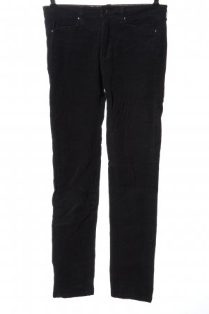 Noa Noa Corduroy Trousers black casual look