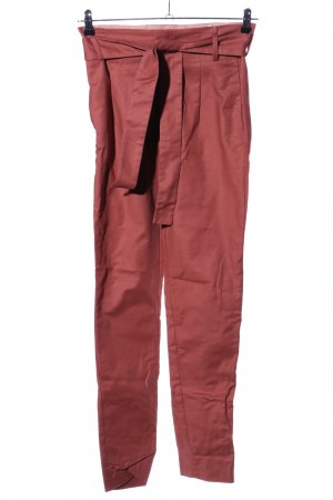 Noa Noa High-Waist Hose rot Casual-Look