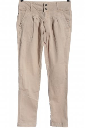 Noa Noa Pantalone chino crema stile casual
