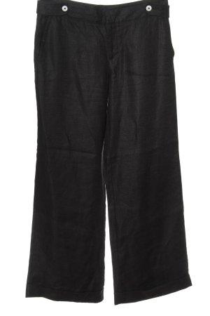 Noa Noa Pantalone a vita bassa nero stile casual
